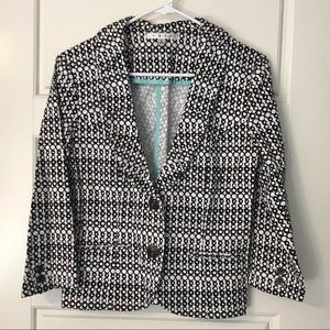 Like New CAbi Geometric Blazer